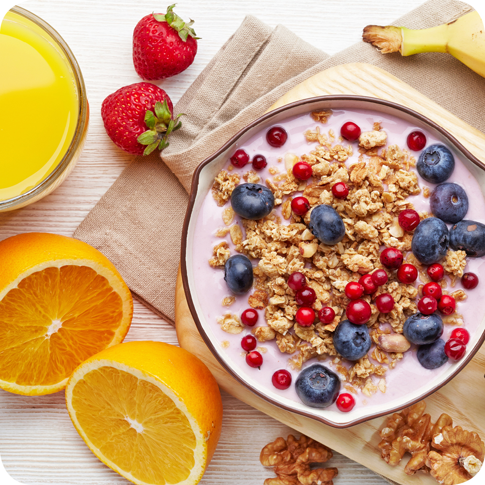 Healthy breakfast cereals image