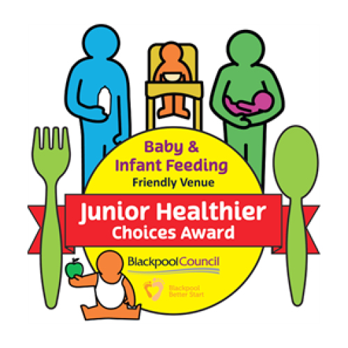 Junior Healthier Choices Award logo